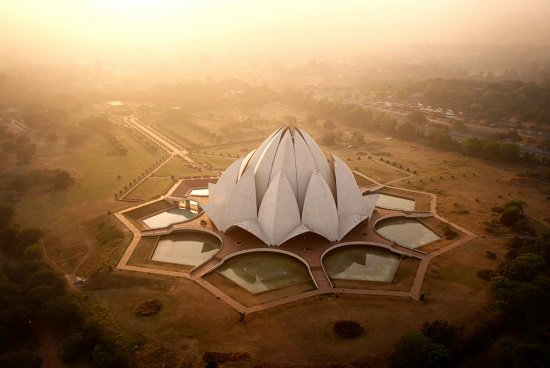 متحف-اللوتس-بالهند