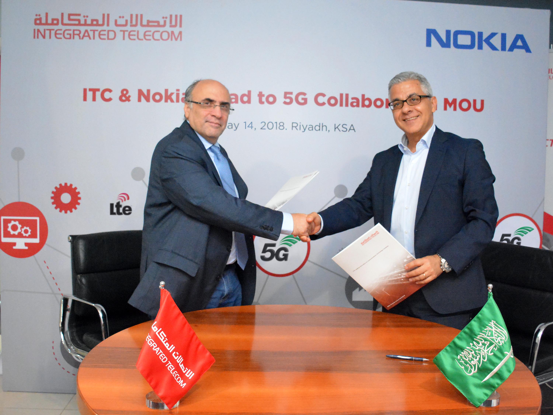 ITC NOKIA Signing