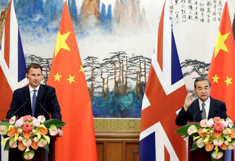 الصين وبريطانيا