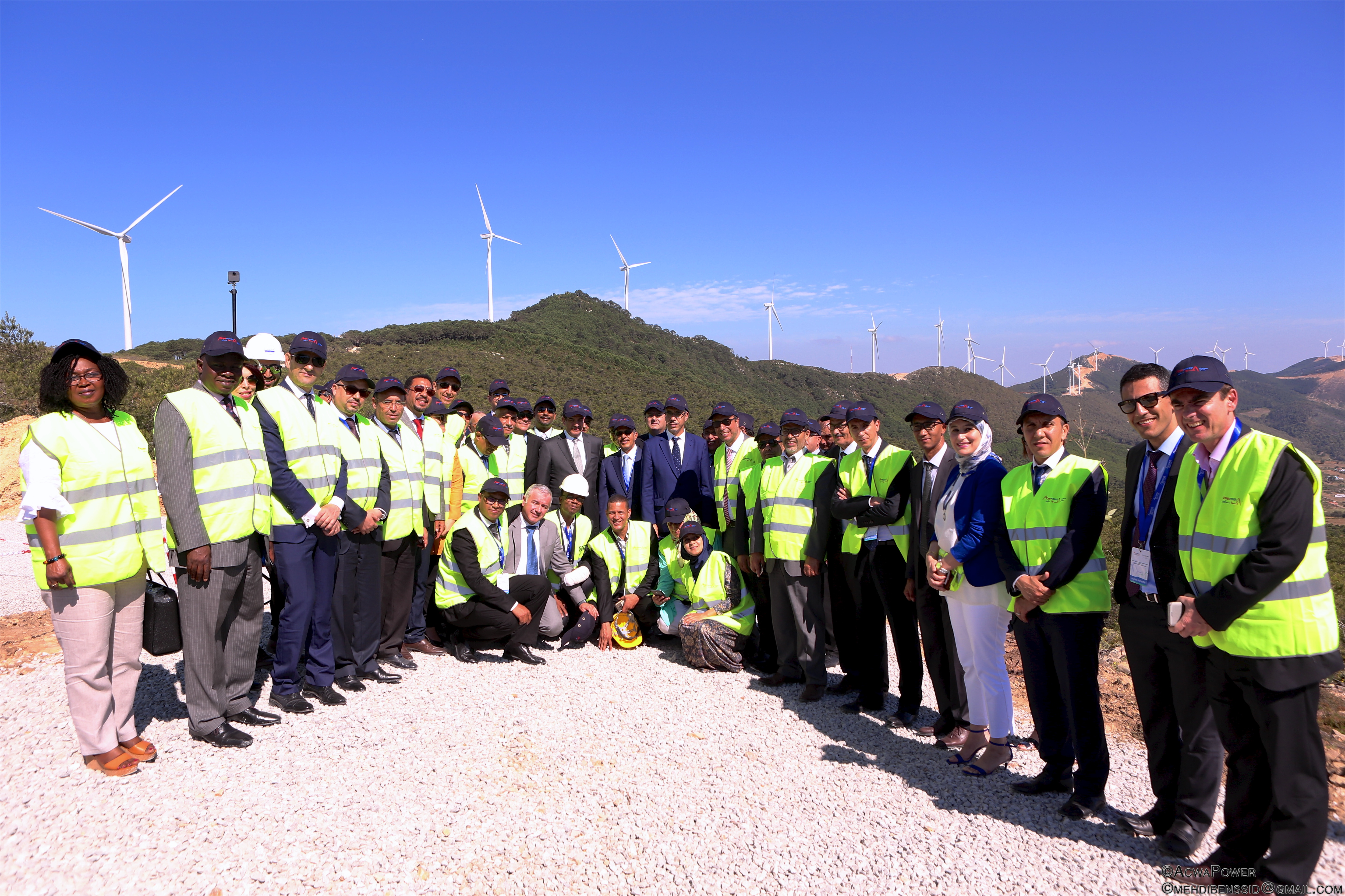 120 MW wind farm developed by ACWA Power inaugurated in Morocco