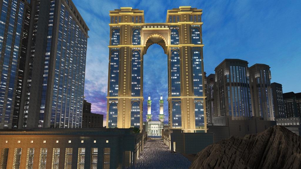 جبل عمر العنوان مكة