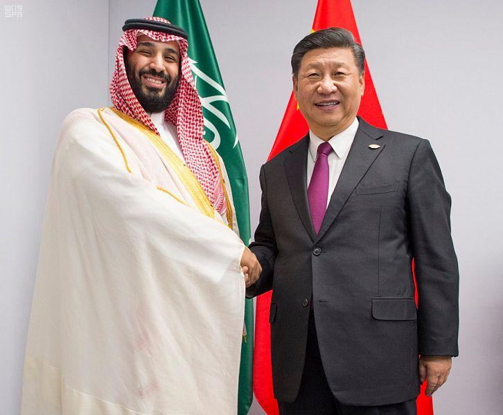 ولي العهد والرئيس الصيني