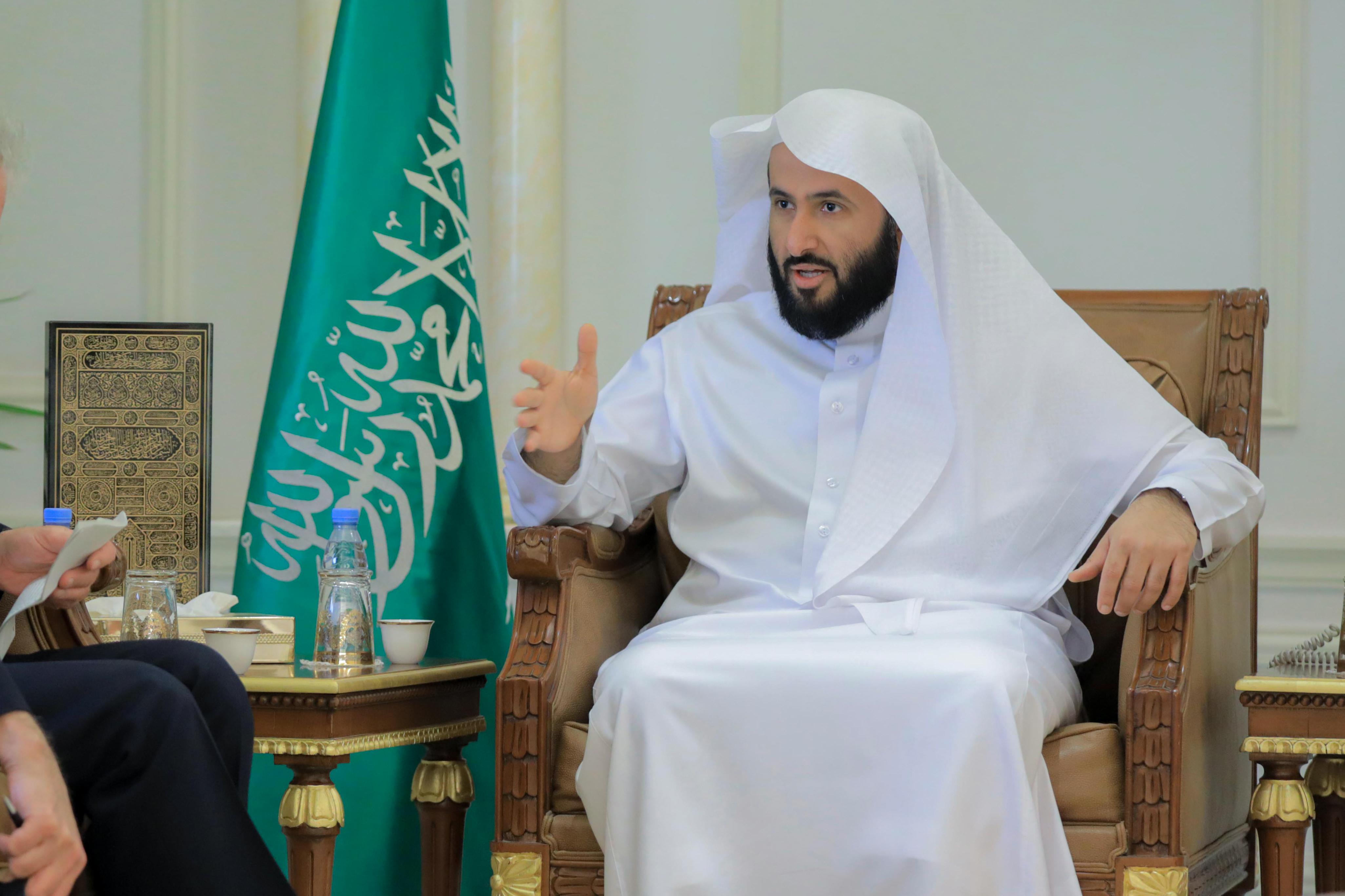 معالي وزير العدل الشيخ الدكتور وليد بن محمد الصمعاني (2)