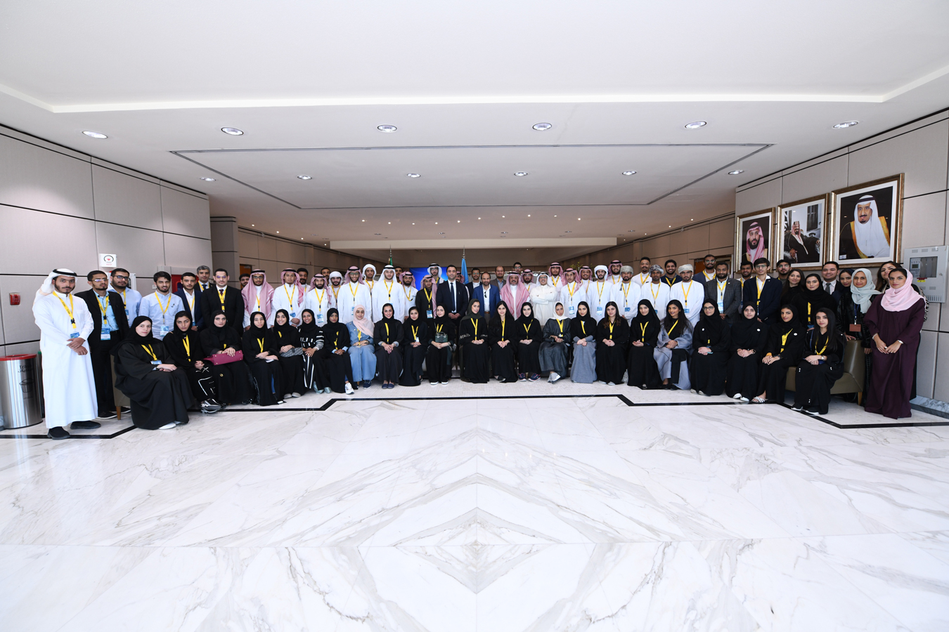 10th Edition of Leaders of Tomorrow is taking place today 12 March at Saudi Aramcos Technical Exchange Center TEC in Dhahran Saudi Arabia_Resized