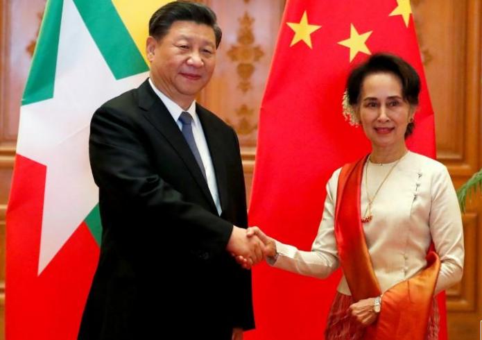 ميانمار والصين