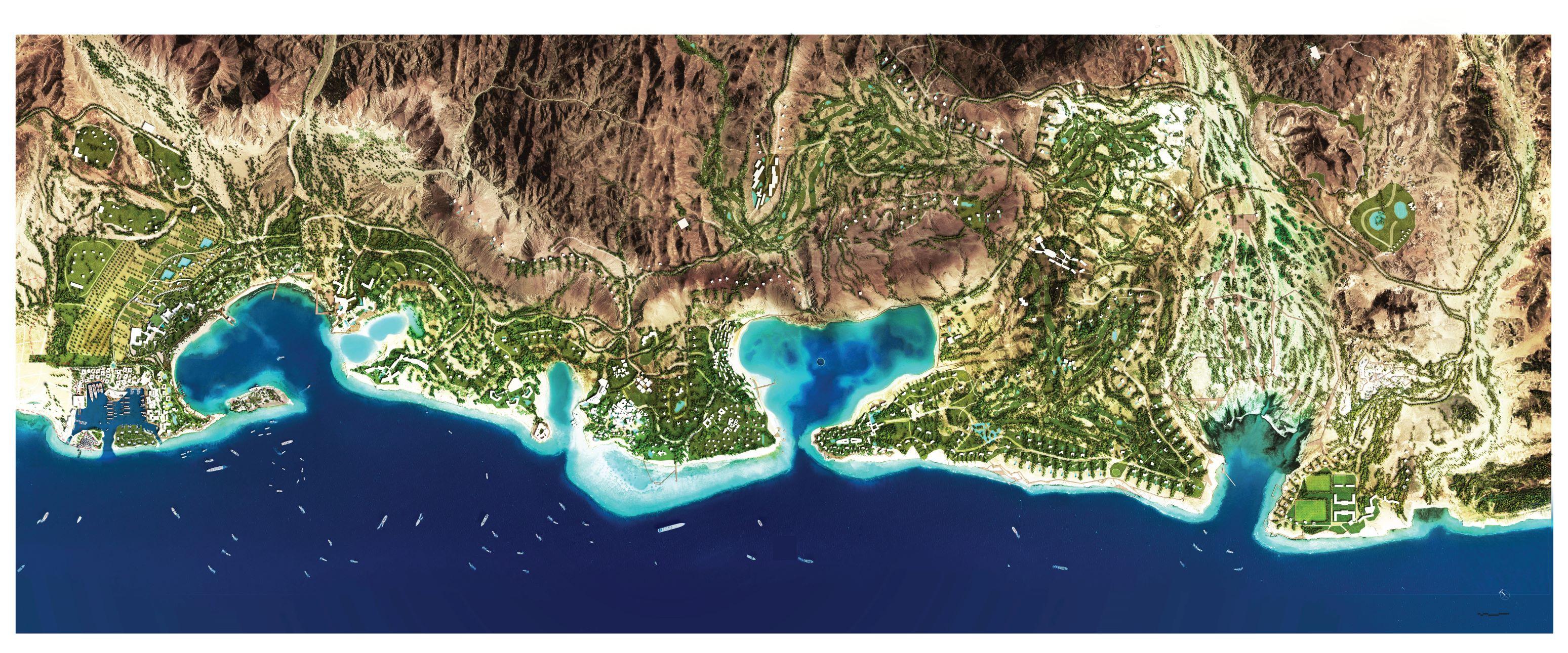 AMAALA Triple Bay Master Plan