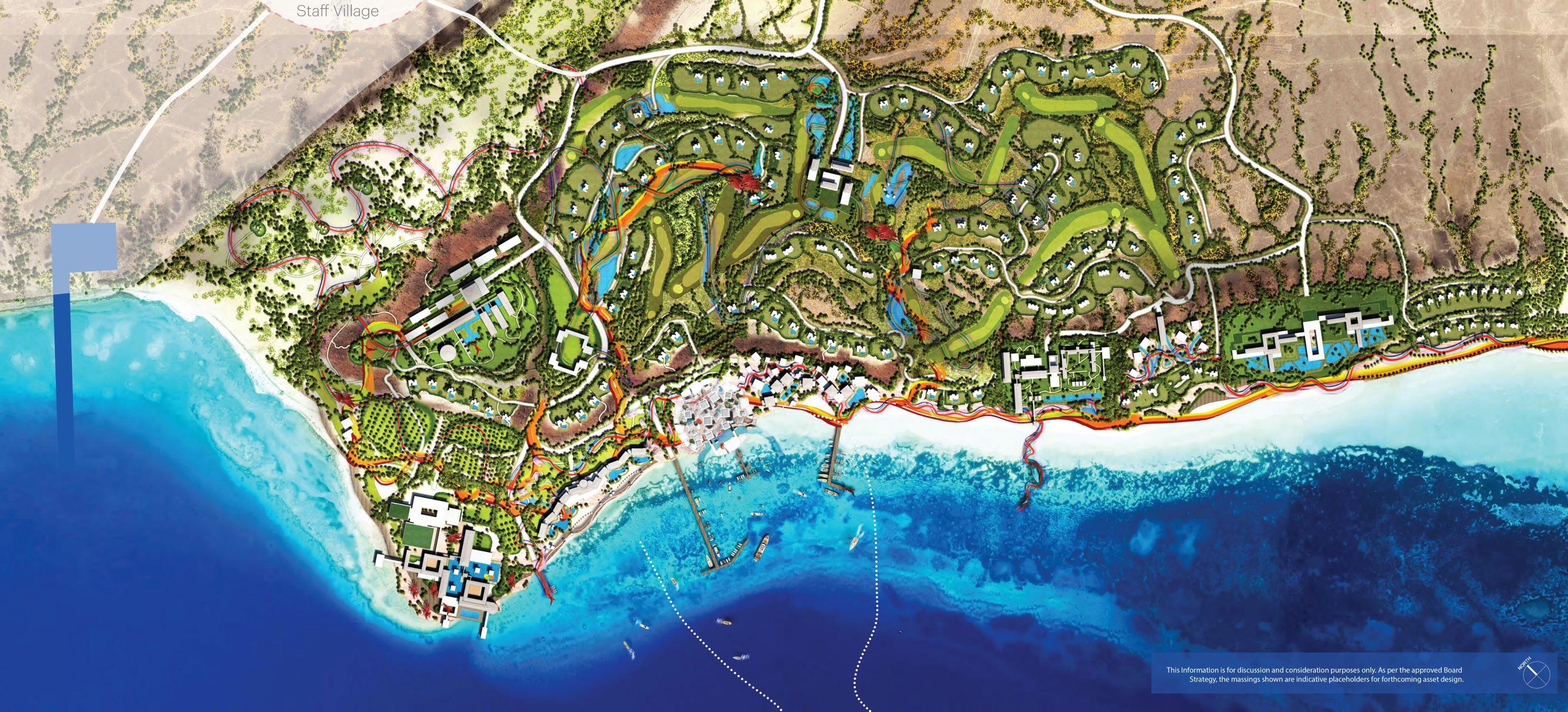 The Coastal Development at AMAALA