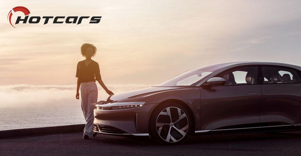 Lucid-Air-Woman-HotCars-Logo